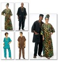 Butterick 5725. Tunic, Caftan, Pants, Hat and Head Wrap.