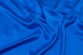 Uniform-blue, gorgeous sandwashed pure silk.