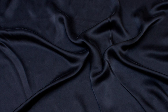 Black, gorgeous sandwashed pure silk