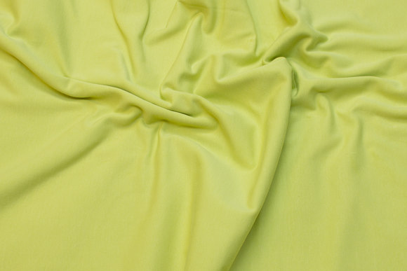 Lime cotton-jersey with lycra