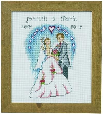 Wedding wall embroidery