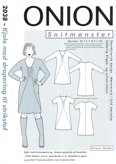 Dress for knit fabric
