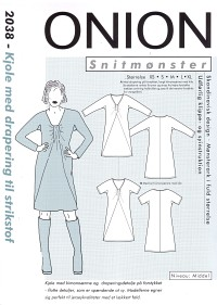 Onion 2038. Dress for knit fabric.