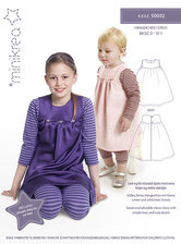 Classic dress for children. Minikrea 50002.