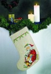 Permin 41-2297. Christmas stocking.