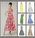 Vogue 8727. Dress.