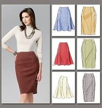 Skirt. Vogue 8750.