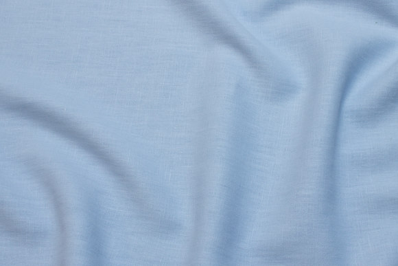 Beautiful 100% linen in delicate light blue