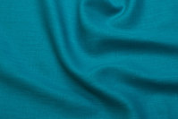 Beautiful 100% linen in greenish turquoise