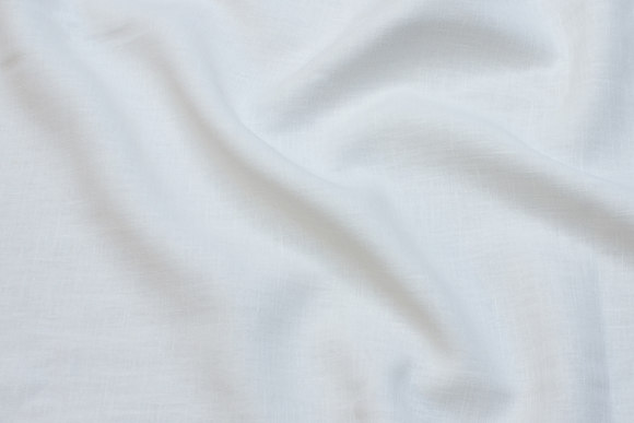 Beautiful 100% linen in white