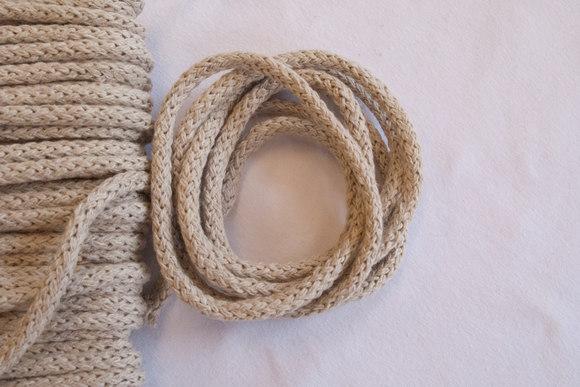 Beige cotton string