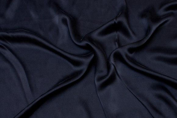Black, gorgeous sandwashed pure silk