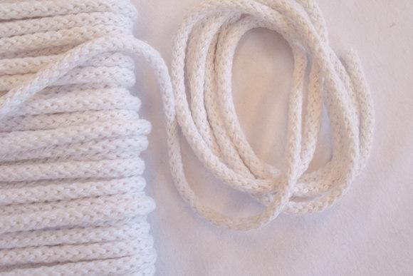 Brown cotton white