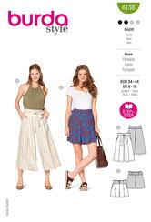 Culottes, Trousers, Pants. Burda 6138.