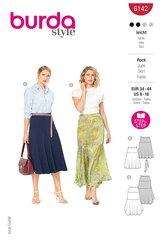 Skirt. Burda 6142.