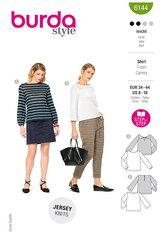 Tops and blouses. Burda 6144.