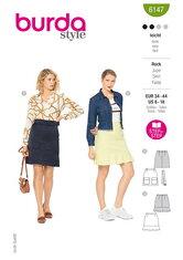 Skirt. Burda 6147.