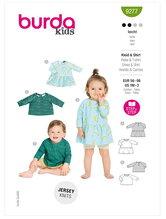 Babies Top and Dress. Burda 9277.