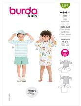 T-shirt and dress. Burda 9284.