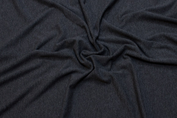 Charcoal cotton-jersey with lycra