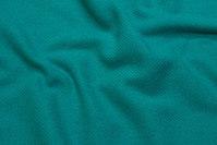 Jade-green furniture-wool, diagonal-weave