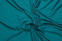 Lightweight viscosejersey in jade-green