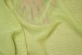 Lime-green chiffon, some transparency