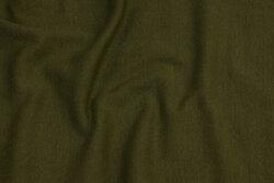 Olive-green rib-fabric
