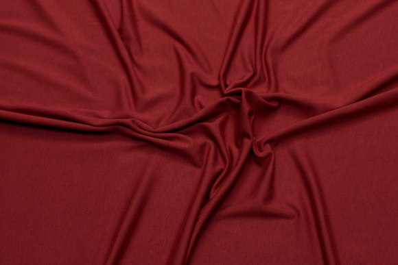 Rust-red beautiful viscosejersey with lycra