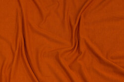 Soft bamboo-jersey in cinnamon-colored