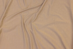 Soft bamboo-jersey in light sand-colored