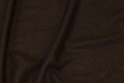 Soft, thin viscose-twill in dark brown for scarfs