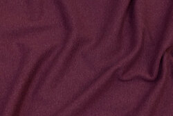Speckled heather-colored rib-fabric