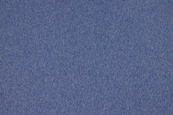 Speckled sky-blue rib-fabric