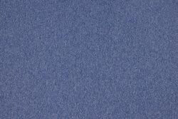 Speckled sky-blue rib-fabric