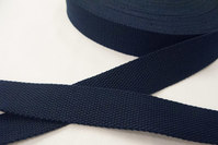 Strap cotton 3 cm navy