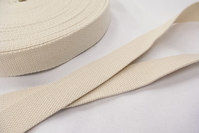 Strap cotton 3 cm off white