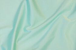 Rugged stretch-satin in mint-colored