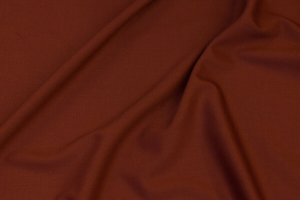 Light, choko-brown blouse-stretchtwill in polyester and viscose