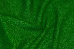 Green patchwork cotton with speckles