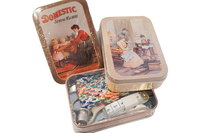 Travellers mending sewing kit.