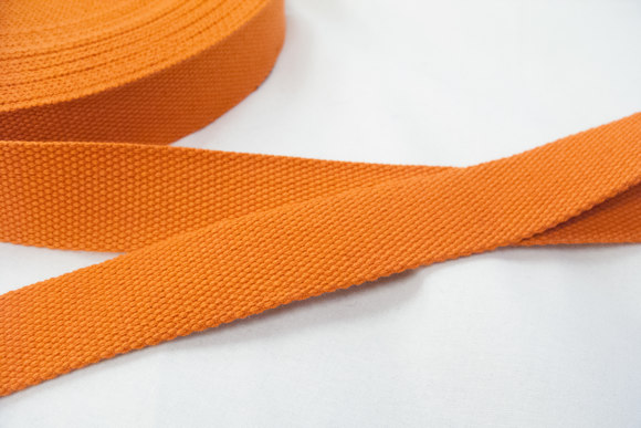 Strap cotton 3 cm orange