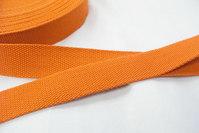 Strap cotton 3 cm orange.