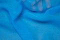 Turqoise-blue chiffon, some transparency
