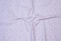 White cotton with purple mini-pattern
