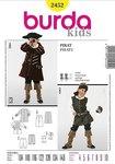 Burda 2452. Pirate jacket and vest.