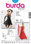 Burda 7879. Evening dress.