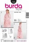 Burda 7880. Vintage dress.