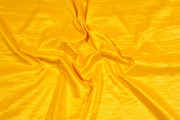 Yellow gallataffeta-crinkle
