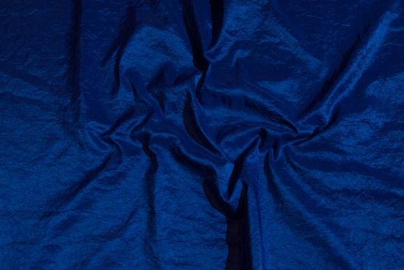 Cobolt-blue gallataffeta-crinkle